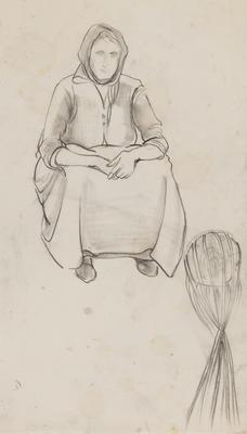 Untitled (Lone Woman)