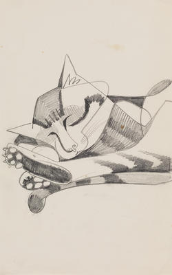 Untitled (Sleeping cat)
