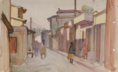 Untitled (street scene)