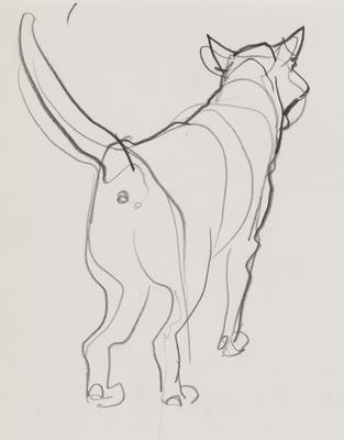 Untitled (Dog)
