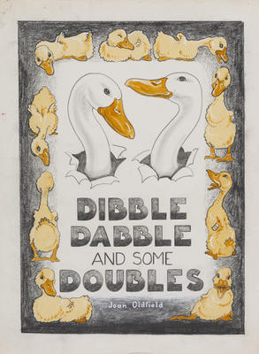 Untitled (Dibble Dabble and some Doubles, Title Page)