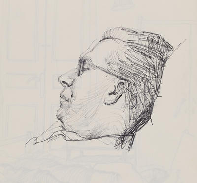 Joan Grehan; Untitled (Sleeping figure); Jan 1965?; 2014/1/191