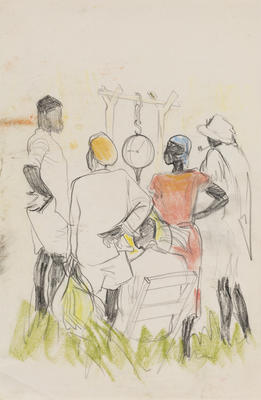 Untitled (Five figures)