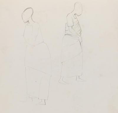 Joan Grehan; Untitled (Two female figures); 2014/1/355