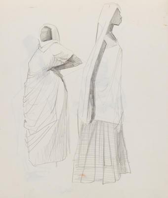 Joan Grehan; Untitled (Two female figure studies); 2014/1/357