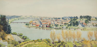 Wanganui from Bastia Hill