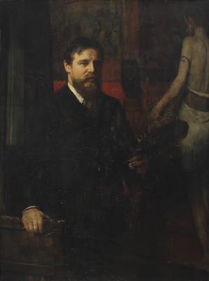 Portrait of Alma Tadema