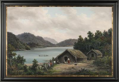 William Baker; Lake Waikare; Circa 1912; 1972/5/1