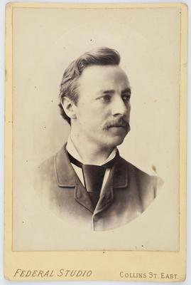 Studio portrait of Henry Collier.