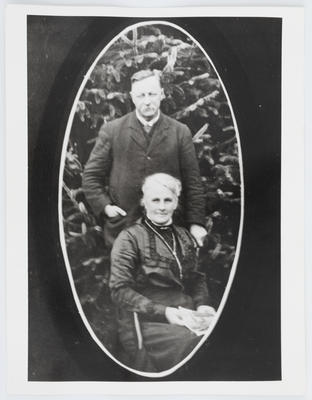 Unknown; Portrait of Henry & Eliza Collier; Unknown; A2015/1/54