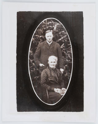 Unknown; Portrait of Henry & Eliza Collier; Unknown; A2015/1/55