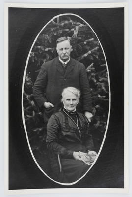 Unknown; Portrait of Henry & Eliza Collier; Unknown; A2015/1/56