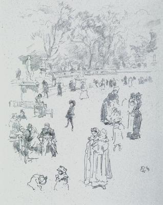 Les Bebes du Luxembourg (Title given in an issue of the ART JOURNAL published in Dec.1894.)