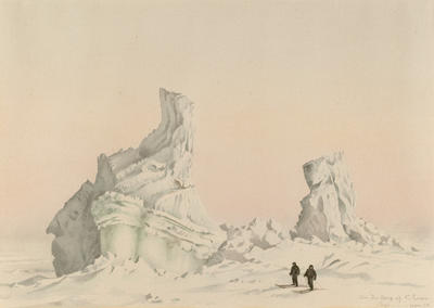 An Ice Berg off Cape Evans Sept. 1.11 4.30pm 1911