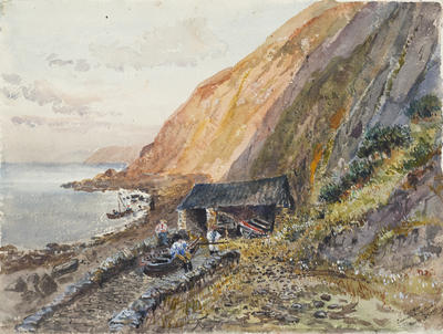 Ethel Birch; Countersbury Cove, North Devon; Circa 1870s; 1922/2/6