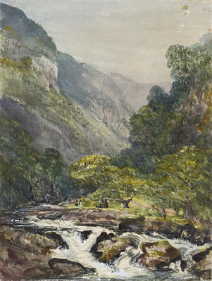 Ethel Birch; Near Watersmeet, Lynmouth; 1877; 1922/2/7