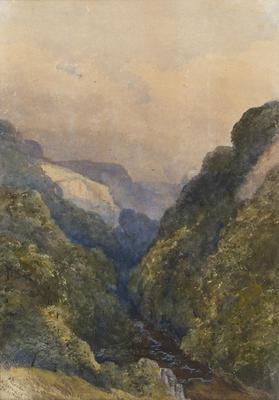 Ethel Birch; Miller's Dale, Derbyshire; Circa 1870s; 1922/2/9