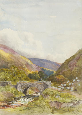Ethel Birch; Chalk Stream, Exmoor, North Devon; Circa 1870s; 1922/2/13