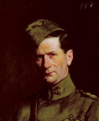Portrait of Charles Herbert Drew R.F.C.
