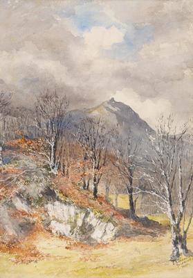 Ethel Birch; Grasmere, Xmas; Circa 1870s; 1922/2/27