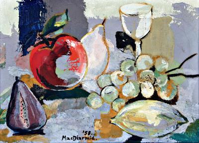 Douglas MacDiarmid; Still Life 1958; 1958; 1990/11/2