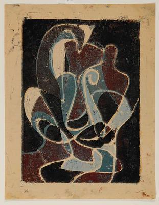 Allen Maddox; Untitled; 1966; L1998/40/7