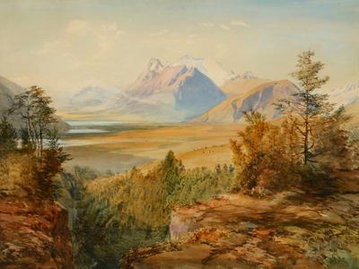 Mt Earnslaw and Lake Diamond