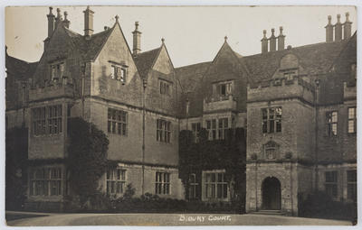 Postcard of Bibury Court, Cirencester.