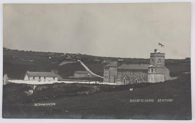 Hughes & Co. The Mall, Waterford; Edith Collier; Postcard of Bonmahon Coastguard Station from Edith Collier to Bill.; Unknown; A2015/1/80