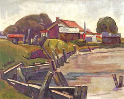 John Weeks; Seashore; Circa 1930; 1975/5/5