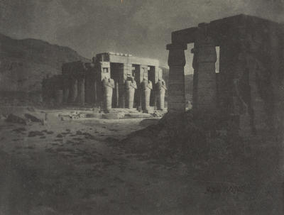 H Summons; Thebes - An Impression of the Ramesseum; Circa 1920; 1925/2/10