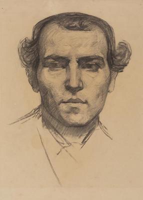 Portrait, Italian Male Model, Royal College of Art