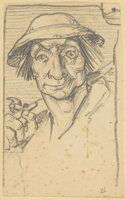 Vivian Smith; Untitled (Head study); 1930; 1988/27/136