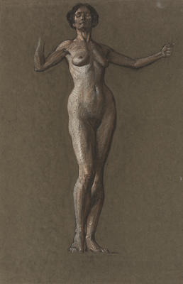 Untitled (Study of Model, Royal College of Art)