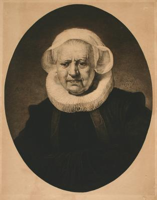 Rembrandt van Rijn; A.S.V.; Untitled (portrait of an old lady); 1883; 1994/57/1