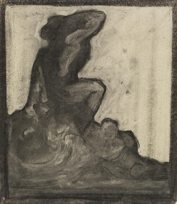 Vivian Smith; Untitled (Seated figure); Unknown; 1988/27/343
