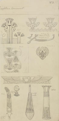 Untitled (Egyptian Ornament)