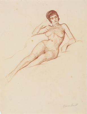 Untitled (Female life study)