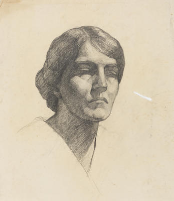 Vivian Smith; Untitled (Female head); Unknown; 1988/27/577