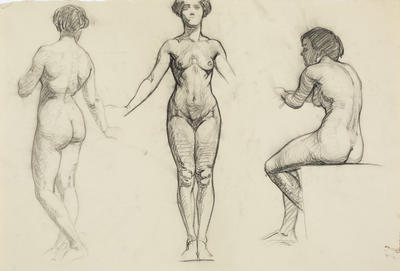Untitled (Female life studies)
