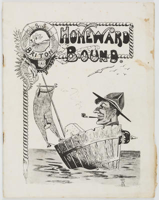 Empire Printing and Box Manufacturing Company Limited; Vivian Smith; E H Jull; Journal, Homeward Bound; 1919?; A2015/4/27