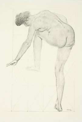 Augustus John; Untitled (Bending Woman); 1977/28/3