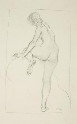 Augustus John; Untitled (woman posing); 1977/28/4
