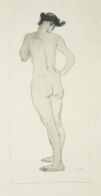 Augustus John; Untitled (Standing woman); 1977/28/5