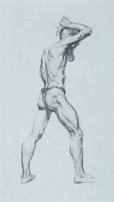 Untitled (Standing Male Figure)