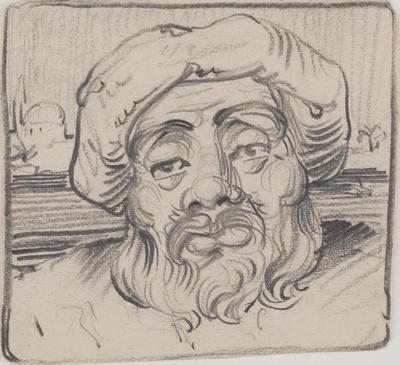 Untitled (Head study)