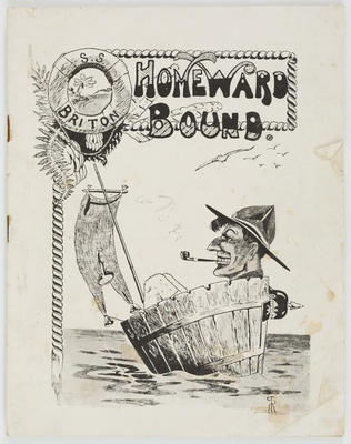 Empire Printing and Box Manufacturing Company Limited; Vivian Smith; E H Jull; Journal, Homeward Bound; 1919?; A2015/4/154