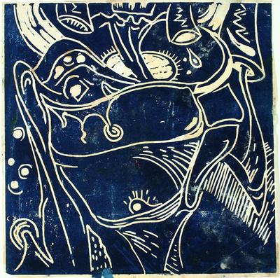 Philip Clairmont; Interiors - sink 1976; 1976; 1988/23/1.2