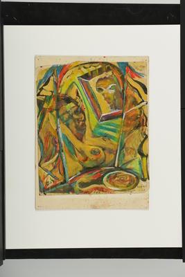 Philip Clairmont; Comp No. 2. Melissa's Image Reflected; 1975; L1998/40/13