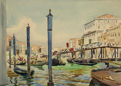 Loading Gondolas, Venice